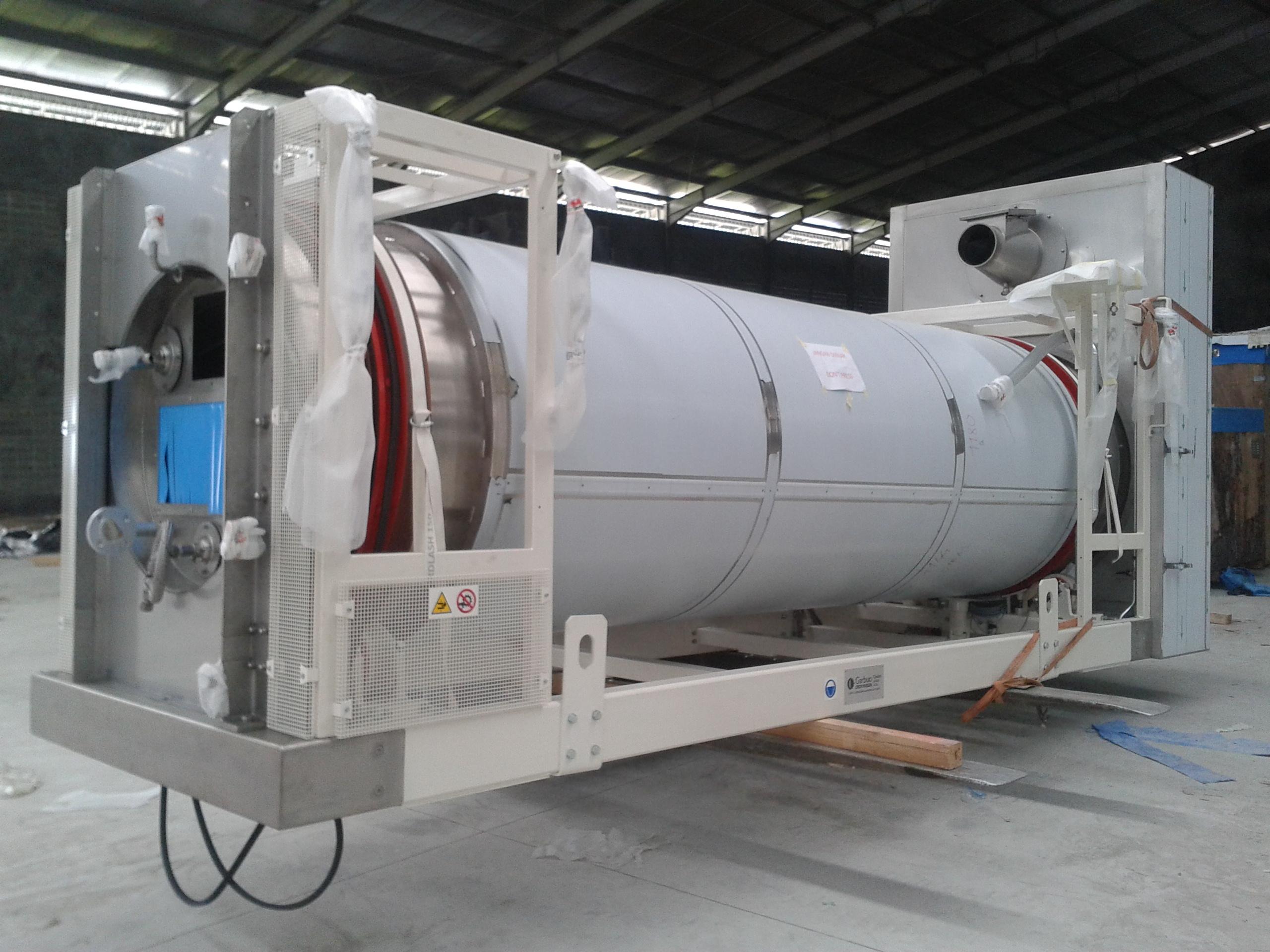 Instalasi Dryer Cylinder