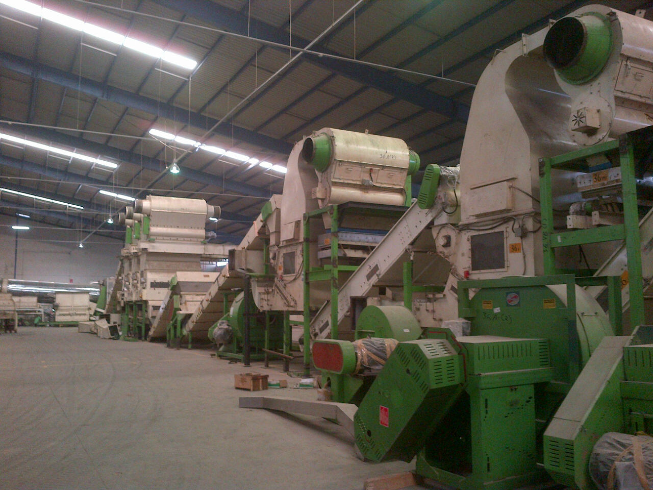 Instalasi Thresher Line