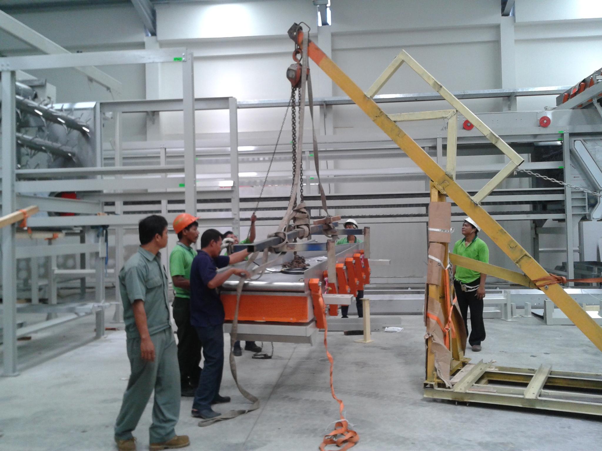 Instalasi Vibratory Conveyor
