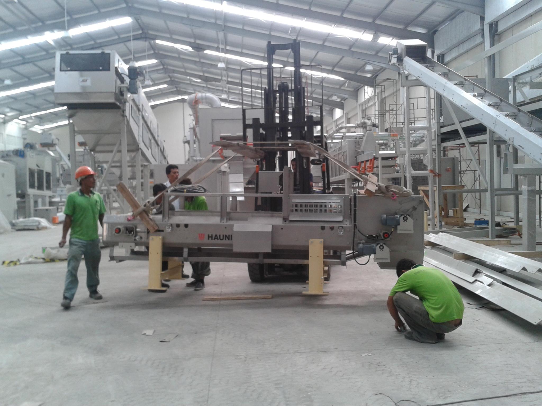Instalasi Weycon Conveyor